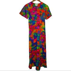 Vintage Mark Christopher Hawaii Maxi dress